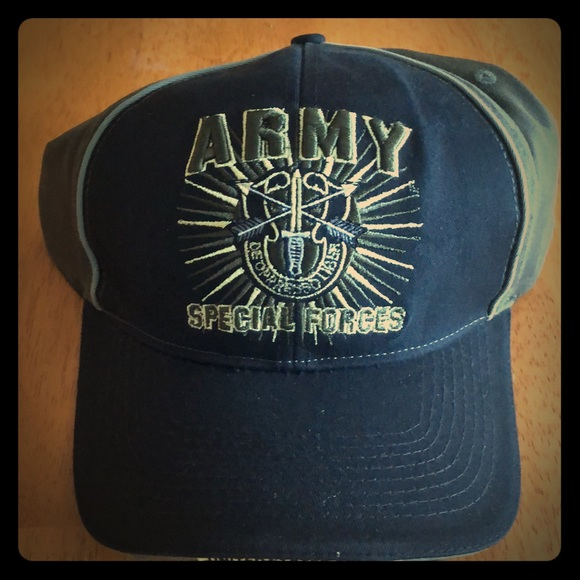 United States U.S SPECIAL FORCES Cap Hat US Army Military USA Adjustable NWT